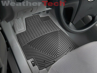WeatherTech All-Weather Floor Mats - Toyota Highlander - 2008-2013 - Black