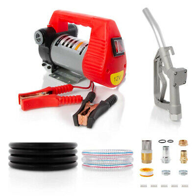12V Portable Diesel Biodiesel Transfer Fuel Pump Kit - 12 Volt
