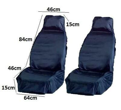 Mechanic Anti Dirt Seat Cover Blue Protection From Grease Prevents Dirt Pair