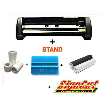 Mh721 Cutter Plotter + Sign Vinyl + Software + Tools Promo Startup Package Deal