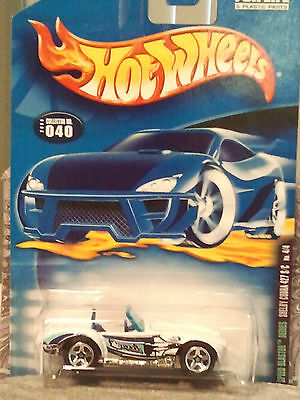 HOT WHEELS 2000 SPEED BLASTER SERIES SHELBY COBRA COLLECTOR #40  4/4