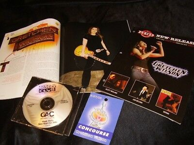 Gretchen Wilson *2 Recent Magazine Covers+Today Show Event Pass+Big & Rich DVD!