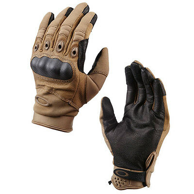 Brand New Genuine Oakley SI Assault Gloves Coyote Tan All Sizes FREE Delivery