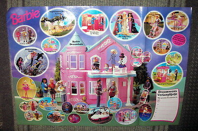 Barbie Droomwens Poster 1996