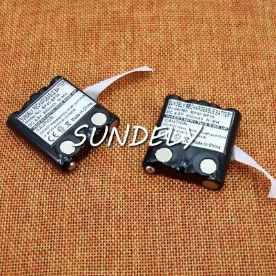 2x Ni-MH Battery Pack For Motorola Radio Walkie Talkie XTR446 IXNN4002A TLKR-T9