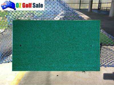 New 1Pcs Heavy Duty Golf Driving Chipping Mat With Dual Height Grass Inc Tee