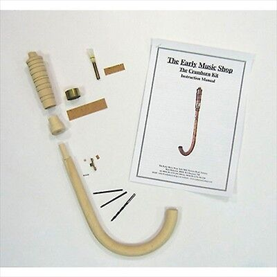 EMS Soprano Crumhorn Kit, BUILD YOUR OWN! **NEW**