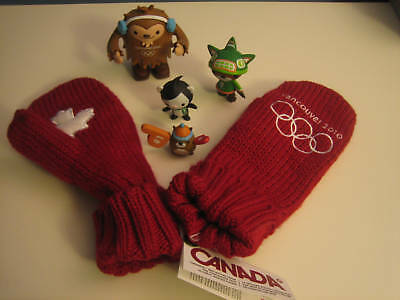 Vancouver 2010 HBC CANADA Olympic red mittens Adult L/XL