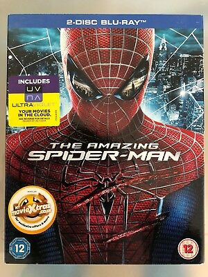 The Amazing Spider-Man*****Blu Ray****Region B******New & Sealed