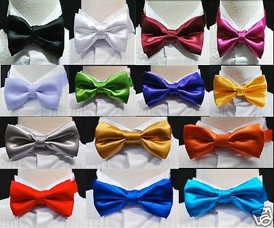 New Bow Tie 14 colors choice Baby Toddler Boys Wedding Formal Tuxedo Vest Suit
