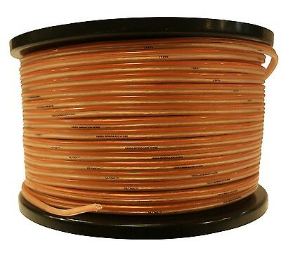 16 gauge 1000ft (2x500ea) Speaker wire 16GA car home wiring quality 16 ga cable