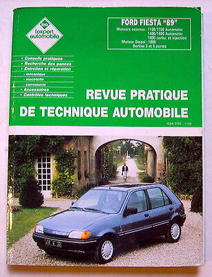 Expert Automobile  Revue Technique Auto Ford Fiesta 89