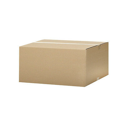 """10 Corrugated Boxes - 24 x 18 x 12"""" - Shipping Moving Cardboard Box Cartons"""
