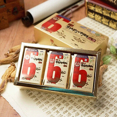 6-Years Korean Red Ginseng Extract Gold [50g*3Bottles] / Boost immunity  !!