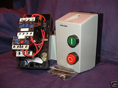 DOL Single Phase Motor Starter c/w Overload of Choice ; Pre-Wired