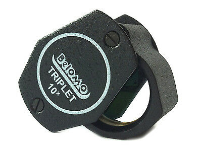 "BelOMO 10x Triplet Loupe Magnifier. 21mm (.85"") NEW. BRAND.  Jewelry Instrument"