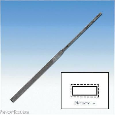 """GROBET-VALLORBE SWISS NEEDLE FILE EQUALING-14cm-5-1/2"""" CUTS #00-0-1-2-4-6"""