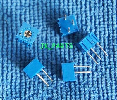 10pcs New 10K Ohm 3362P Trimpot Trimmer Potentiometer 3362P-103