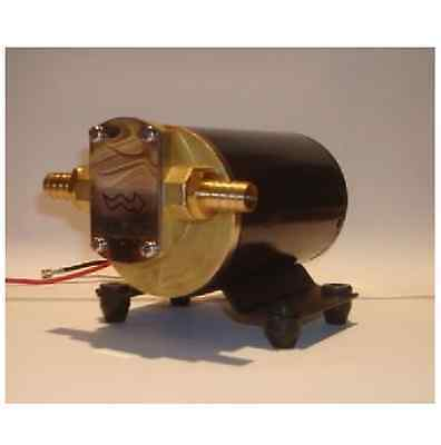 NEW Gear Pump For Oil And Water Discharge 12 Volts Unlike Groco 12V GRO-GPB1