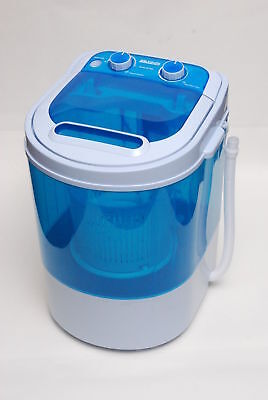 Leisure Direct 230V Mini Portable Washing Machine For Students  + Spin Function