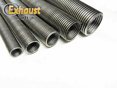 Universal Heavy Duty Flexible Stainless Steel Flexi Tube Exhaust Pipe 33mm, 1/2M