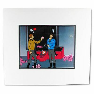 STAR TREK TAS The ANIMATED SERIES Tribble Trouble Limited Edition Serigraph Cel