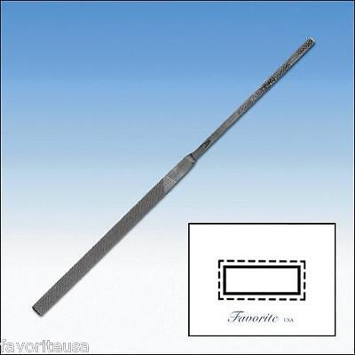 """GROBET-VALLORBE SWISS NEEDLE FILE EQUALING-18cm-7-1/4"""" CUTS # 00-0-1-2-3-4-6"""