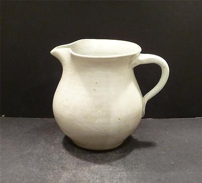 Bybee Kentucky Cornelison Pottery White Pitcher