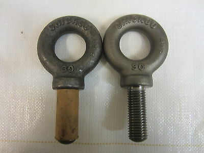 2 - Chicago #30 Machinery Eye Bolts With Shoulder 12988 6