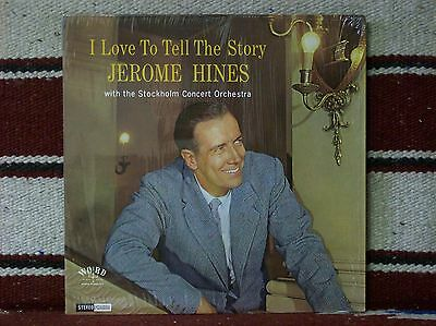 JEROME HINES - I LOVE TO TELL THE STORY (8365) VG++ cond.  Very nice!