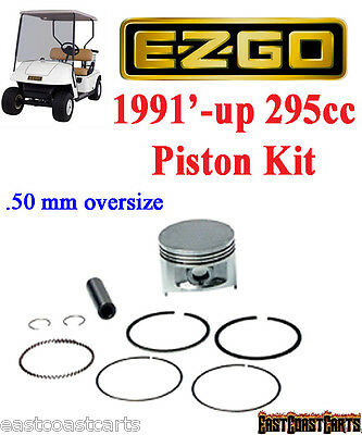 EZGO 1991'-up (4 Cycle) .50mm Oversize Piston & Ring Assembly 26661-G01