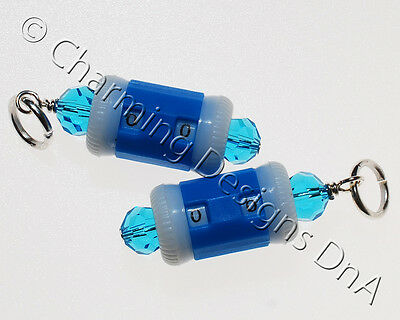 Row Counter / Beaded Stitch Marker - Fits up to 5mm needles  - UK Seller