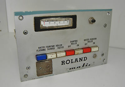 Roland Matic Water Electrical board USED but working fine A37 U514570