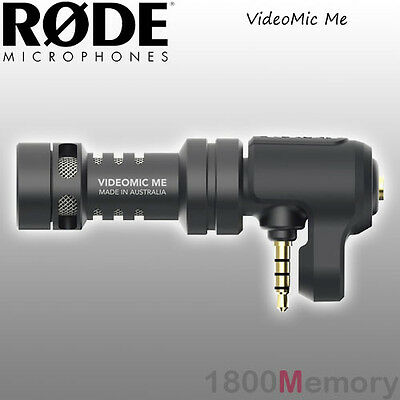 Rode VideoMic Me Video Mic Microphone for Apple iPhone iPad Smartphone Android