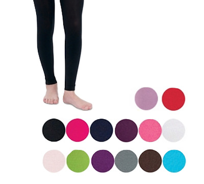 COUNTRY KIDS Microfiber Footless Ankle Tights Girls 1 to 14 years JEFFERIES