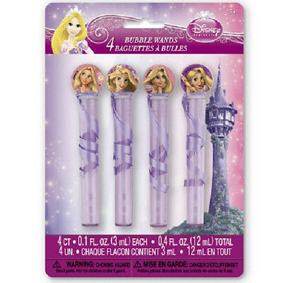 Disney Princess TANGLED ~(4) Bubble Wands ~ Birthday Party Supplies Party Favors