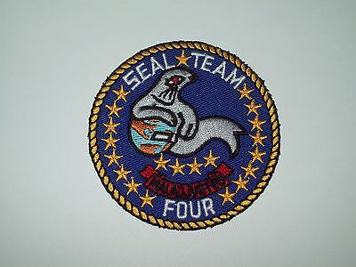 Us Navy Seal Team Four Military Patch - Seal Team 4