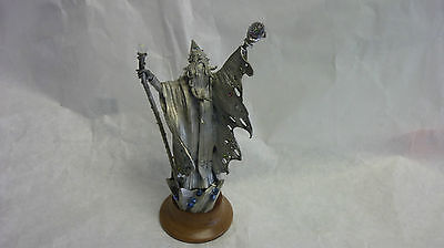 CRYSTAL DRAGON PEWTER SCULPTURE BY JAMES L CASEY  PERTHA PEWTER
