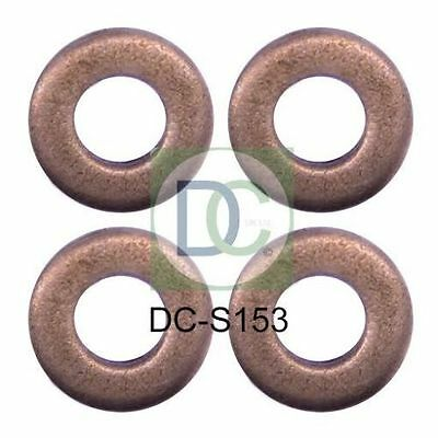 Ford C-Max 1.6 TDCi Bosch Common Rail Diesel Injector Washers / Seals Pack of 4