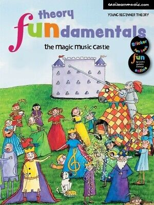 EasiLEARN Introduction to Music Magic Music Castle *NEW* Music Sticker Fun Book