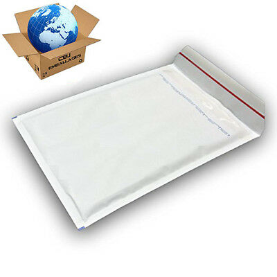 200 ENVELOPPES A BULLE EXPEDITION Blanche type MAIL LITE T1 A/000 (110x160)