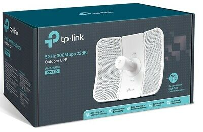 NEW TP-Link CPE610 5GHz 300Mbps 23dBi Outdoor Wireless Access Point Antenna POE