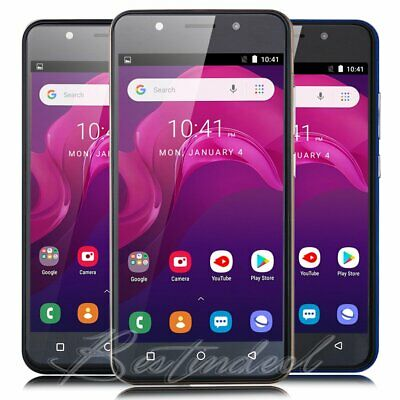 """5"""" Dual Sim Android 6.0 Smartphone Quad Core Unlocked 3G/GSM T-Mobile Cell Phone"""
