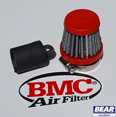 Kit Filtro Bmc + Tappo  Fiat Grande Punto Abarth Sfiato Esterno Pop Off By Pass