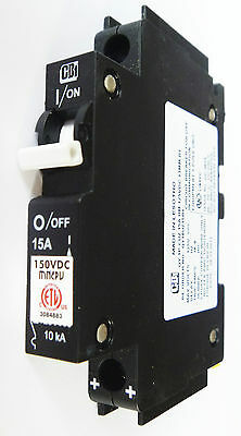 8A 10A 15A 20A 30A 40A 50A 60A 125V DC PV Circuit Breaker disjoncte Solar Charge