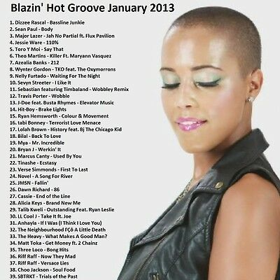 Promo Video Compilation, Blazin Hot Groove January 2013, NEW DVD! ONLY on Ebay!