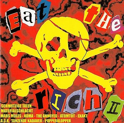 V/A - Eat The Rich Ii Cd (Materialschlacht, A.c.k., The Annoyed, Popperklopper)