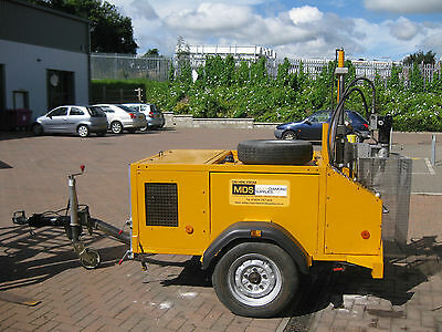 Used Diamond Coring Trailer Rig 18HP or 27HP 300mm Diameter Drilling