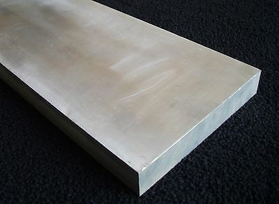 """1/2"""" 0.5"""" x 6.375"""" x 8"""" and 0.5"""" x 6"""" x 9"""" Long 6061 Aluminum Plate - Lot of 4"""