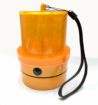 CARGO 172253 Amber LED Beacon Portable Magnetic Battery Powered - No Wiring
